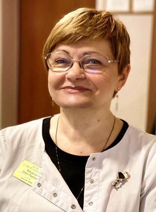 доктор мед.наук Бабуркіна Олена Павлівна